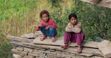 Schulkinder-Nepal